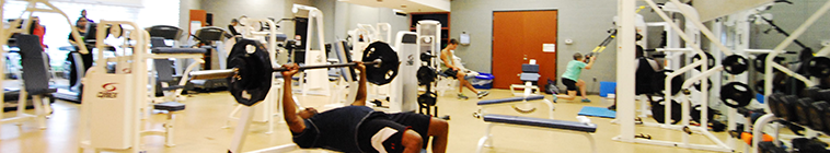 HCC fitness room