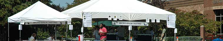 craft brews tents