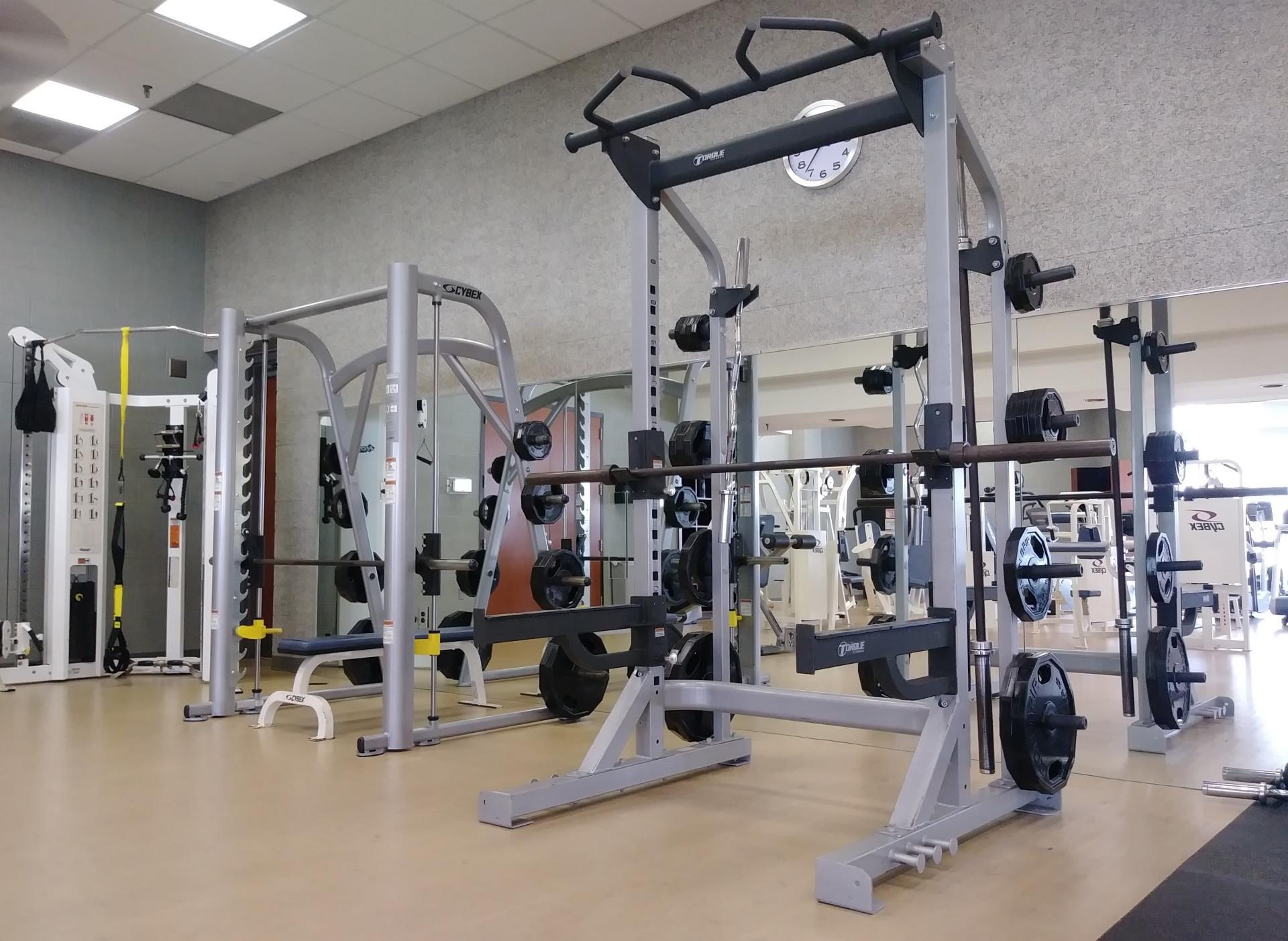 Fitness room town of herndon va
